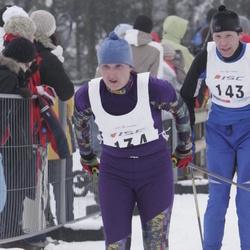 35. Haanja suusamaraton - Margit Ani (134), Alar Reiska (143)