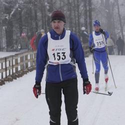 35. Haanja suusamaraton - Aare Pilvet (153), Urmas Brück (255)