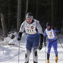 11. Tallinna suusamaraton - EMT Estoloppet - Aimur Uuk (197), Markko Abel (211)