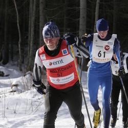11. Tallinna suusamaraton - EMT Estoloppet - Kaarel Toss (57), Alexander Lott (61)