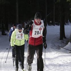 11. Tallinna suusamaraton - EMT Estoloppet - Alvin Vann (284), Peeter Hendrikson (312)