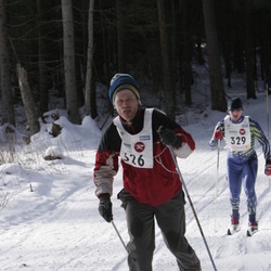 11. Tallinna suusamaraton - EMT Estoloppet - Kristjan Vällik (326), Aimar Liiver (329)