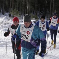 11. Tallinna suusamaraton - EMT Estoloppet - Kaspar Lood (170), Urmas Sulaoja (208), Agu Lipping (228)