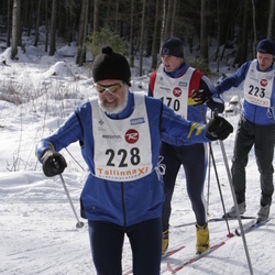 11. Tallinna suusamaraton - EMT Estoloppet - Kaspar Lood (170), Eero Liivrand (223), Agu Lipping (228)