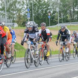 SEB 33. Tartu Rattaralli - Andis Lejins (118), Alo Lember (463), Yury Kardashev (776), Allan Rior (955)
