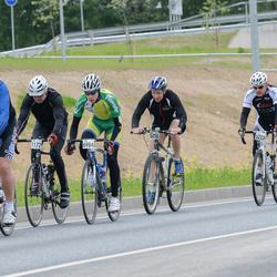 SEB 33. Tartu Rattaralli - Toomas Hitrov (5040), Fred Sooläte (5223), Cris Poll (5433), Arttu Mattias Jauhiainen (6984)