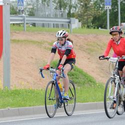 SEB 33. Tartu Rattaralli - Brita Sander (5986), Merelle Uusrand (6002)