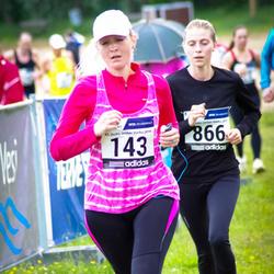 43. jooks ümber Harku järve - Krista Jõessar (143), Katrin Väärtnõu (866)