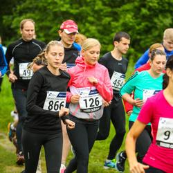 43. jooks ümber Harku järve - Hanna-Maria Jaeski (126), Katrin Väärtnõu (866)