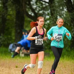 43. jooks ümber Harku järve - Maigi Pung (540), Maarja Õkva (868)