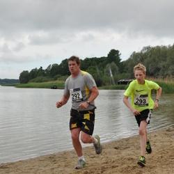 43. jooks ümber Harku järve - Aivar Köök (292), Mark Köök (293)