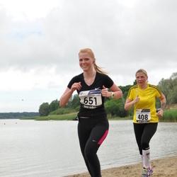 43. jooks ümber Harku järve - Aili Metsamaa (408), Kadi Seil (651)