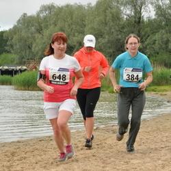 43. jooks ümber Harku järve - Esther Malv (384), Olga Savolainen (648)