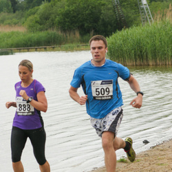 43. jooks ümber Harku järve - Kristjan Peterson (509), Kadri Jägel (888)