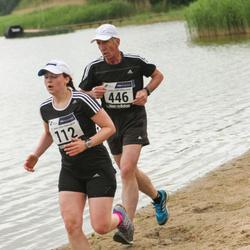 43. jooks ümber Harku järve - Raili Hurt (112), Bruno Münter (446)