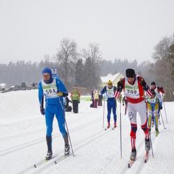 41. Tartu Maraton - Artur Rauk (289), Ivo Tupits (594)