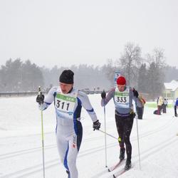 41. Tartu Maraton - Priit Tambet (311), Alari Kannel (333)