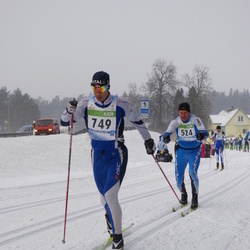 41. Tartu Maraton - Tuomo Haikonen (524), Taikki Tillemann (749)