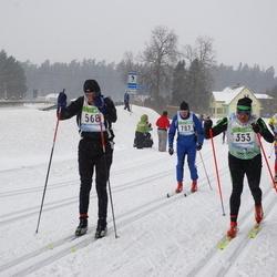 41. Tartu Maraton - Art Soonets (353), Margus Rein (568), Eero Liivandi (787)