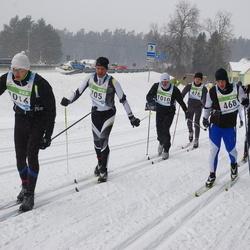 41. Tartu Maraton - Alar Lehesmets (468), Taavi Klaos (676), Rait Ratasepp (1010), Ando Roos (1016)