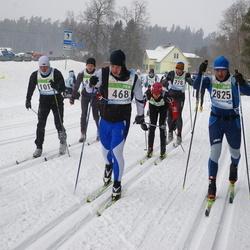 41. Tartu Maraton - Alar Lehesmets (468), Rait Ratasepp (1010), Sergey Sviridov (2825)