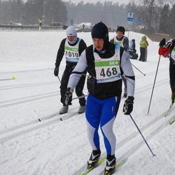 41. Tartu Maraton - Alar Lehesmets (468), Rait Ratasepp (1010)