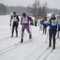 41. Tartu Maraton - Sixten Sild (339), Andre Pukk (423), Jüri Joonas (889)