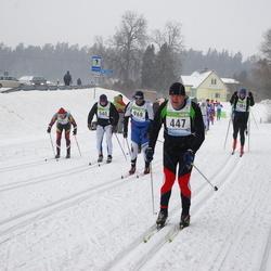 41. Tartu Maraton - Janne Haataja (447), Marten Tammet (540), Kari Hermansson (968), Agris Peedu (1086)