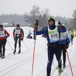 41. Tartu Maraton - Arkadiy Petreykin (500), Vahur Loosaar (808), Olav Wärnman (966)