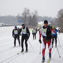 41. Tartu Maraton - Arnis Smugais (1103), Ain Vihermets (1221), Uvis Soika (1652), Tanel Veeremaa (1863)