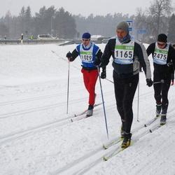 41. Tartu Maraton - Janar Vabarna (1029), Vallo Vardja (1165), Anders Back (2475)