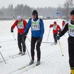 41. Tartu Maraton - Kaupo Kaljuvee (1202), Juha Uusitalo (1350), Eero Kivikas (1487), Taavi Tiimus (1599), Aivar Taro (1982)