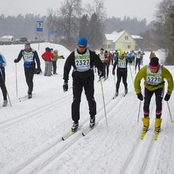 41. Tartu Maraton - Alver Kivirüüt (1269), Tomi Mahlamäki (2327), Andre Kull (5220)