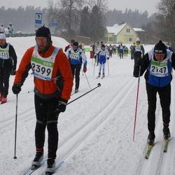 41. Tartu Maraton - Märt Elmet (1335), Mart Ilves (2147), Arnold Loos (2399)