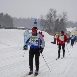 41. Tartu Maraton - Ando Allik (1959), Marek Aarniste (2642)