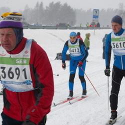41. Tartu Maraton - Taavi Krusell (3610), Peeter Kangur (3691), Adu Mändmets (5412)