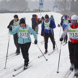41. Tartu Maraton - Ülle Luiks (2328), Meelis Luiks (2571), Erkki Laur (2740), Aare Paulov (3195), Annika Pang (3373), Herki Tamm (3774), Marco Haas (4892)