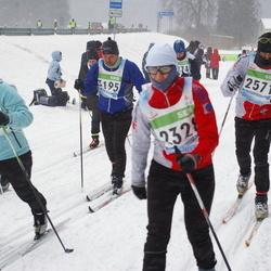 41. Tartu Maraton - Ülle Luiks (2328), Meelis Luiks (2571), Erkki Laur (2740), Aare Paulov (3195), Annika Pang (3373)