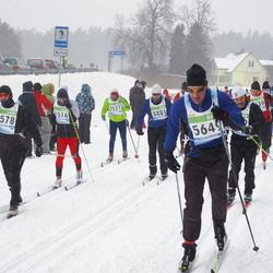 41. Tartu Maraton - Andrei Solovjov (3527), Kristjan Kaskman (3578), Anders Eensalu (3881), Priit Karp (5649)