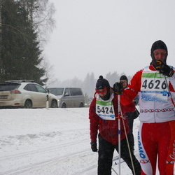 41. Tartu Maraton - Aare Sepp (4626), Urmas Arro (5424)