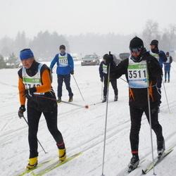 41. Tartu Maraton - Agu Lipping (3337), Mauno Müürsepp (3511), Ann Vainlo (3742)