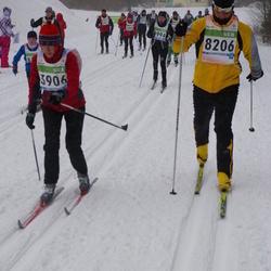 41. Tartu Maraton - Reine Koppel (3906), Aivo Int (8206)