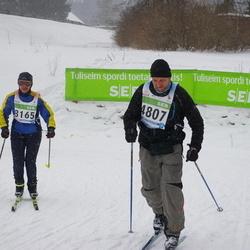 41. Tartu Maraton - Ando Meerbach (4807), Minija Pääslane (8165)
