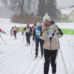 41. Tartu Maraton - Annika Virolainen (3515), Ene Rebane (4262)