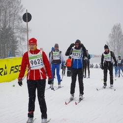 41. Tartu Maraton - Agnes Järvelaid (3622), Teele Vaarak (8284), Anu Ruuven (8368), Mare Lüüs (9623), Marko Saar (9825)