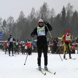 41. Tartu Maraton - Alessandro Guardigli (2489), Tamo Toodo (3109)