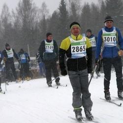 41. Tartu Maraton - Mart Varvas (2749), Meelis Koskaru (2865), Ago Käis (3010)