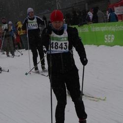 41. Tartu Maraton - Keskel Urmo (4843), Artur Jugaste (5360)