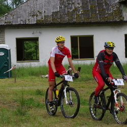 Jõelähtme VIII rattamaraton - Gert Jõeäär (35), Ivo Mölder (80)