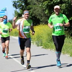 Narva Energiajooks - Björn Puna (346), Kristjan Sahtel (418)